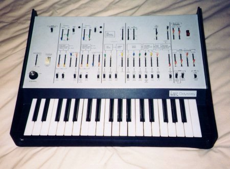 The Arp Odyssey synthesizer